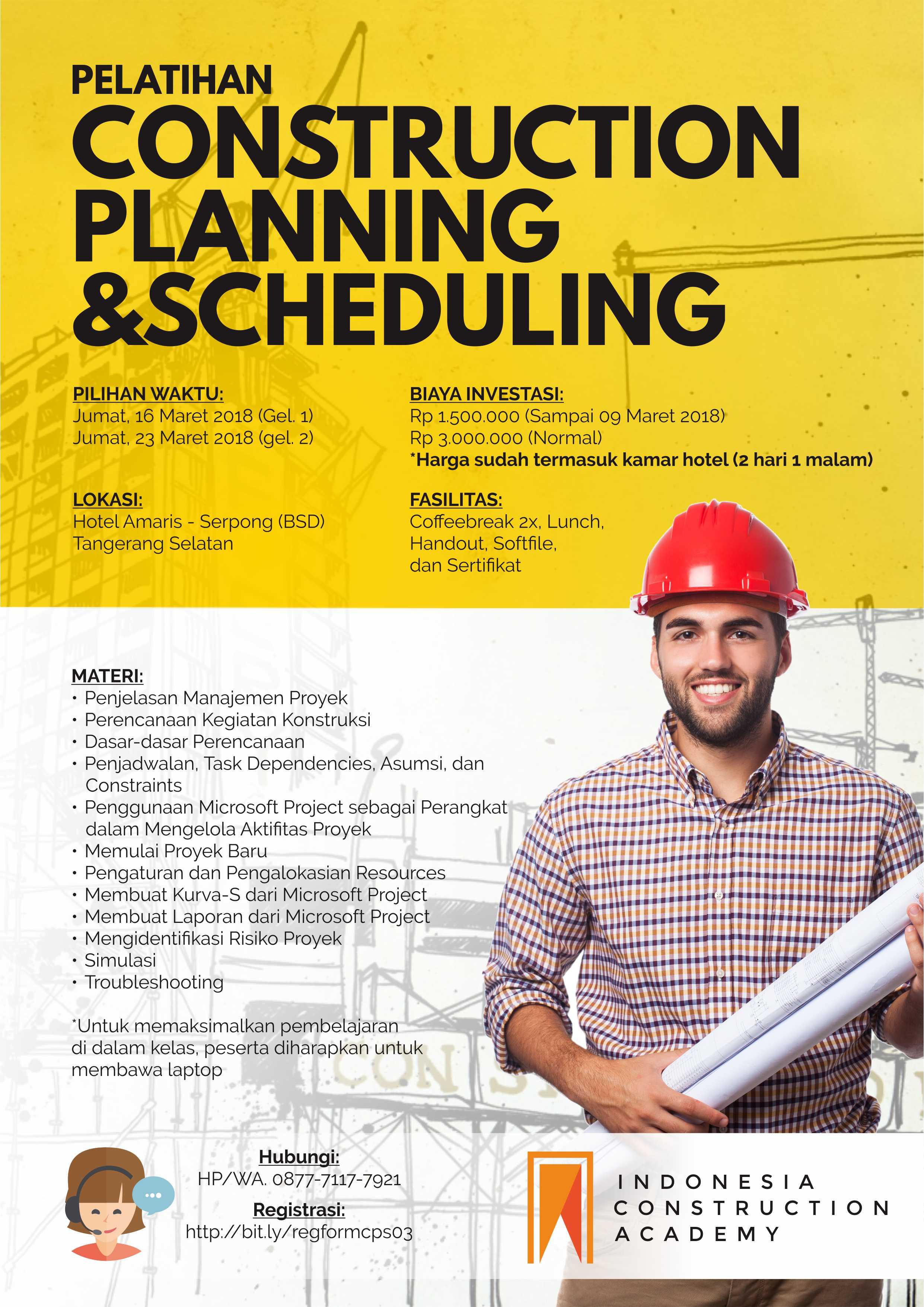 Poster Maret 2018 - Construction Planning