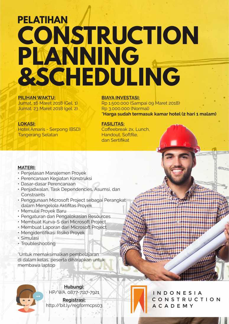 Poster Maret 2018 - Construction Planning