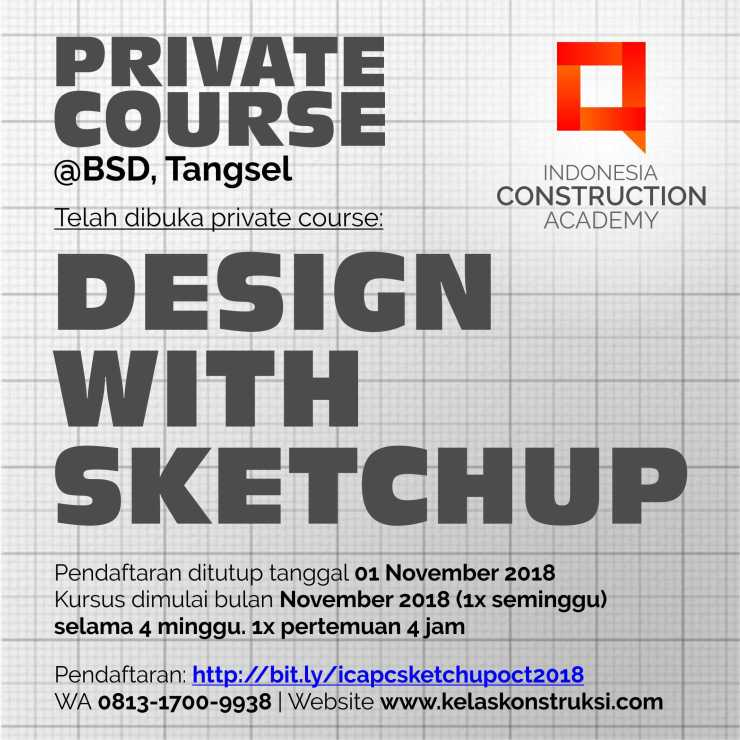 Private Course Sketchup_October 2018