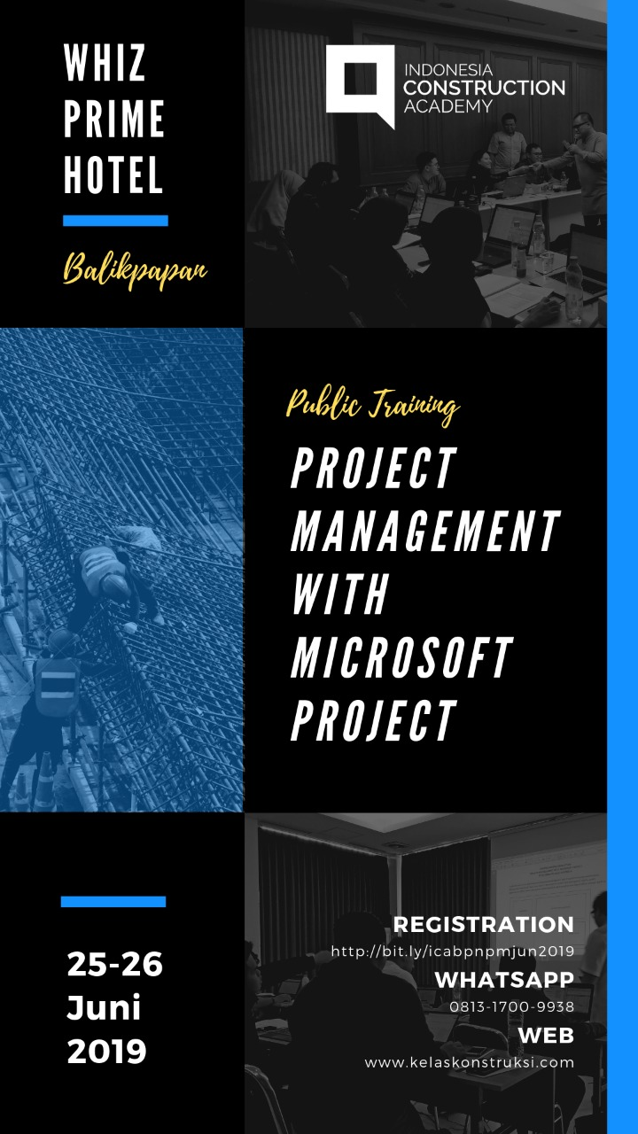 201906, Project Management With Ms. Project, @Balikpapan